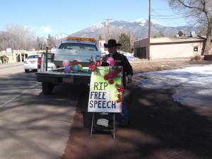 Seizing Picket Signs 8