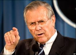 Rumsfeld.Mr. Unknown